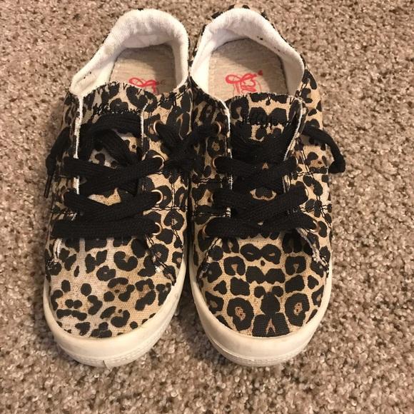 Jelly Pop Leopard Shoes Sz 75